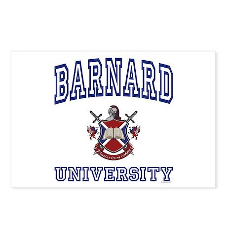 BARNARD University Postcards (Package of 8)
