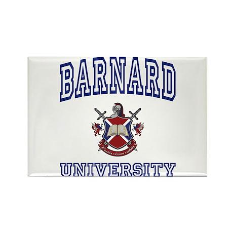 BARNARD University Rectangle Magnet (100 pack)