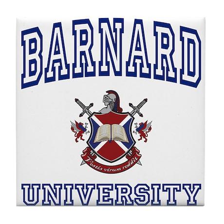 BARNARD University Tile Coaster