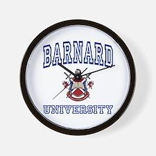 BARNARD University Wall Clock