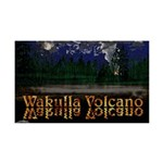 The Volcano at Night Wall Decal