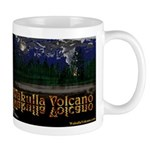 The Volcano at Night Mugs
