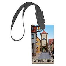 Rothenburg od Tauber - Siebersto Luggage Tag