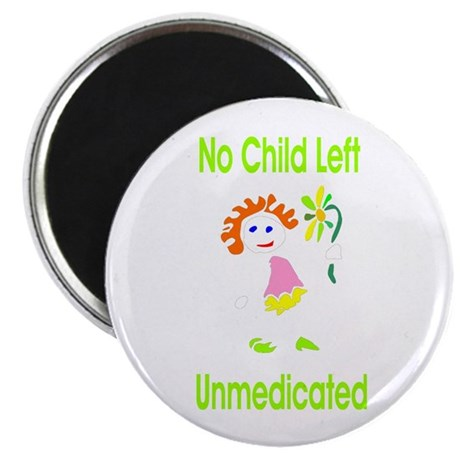 Unmedicated Cafe Magnet