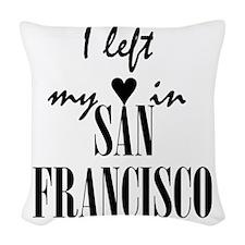 SF_10x10_apparel_LeftHeart_Bla Woven Throw Pillow