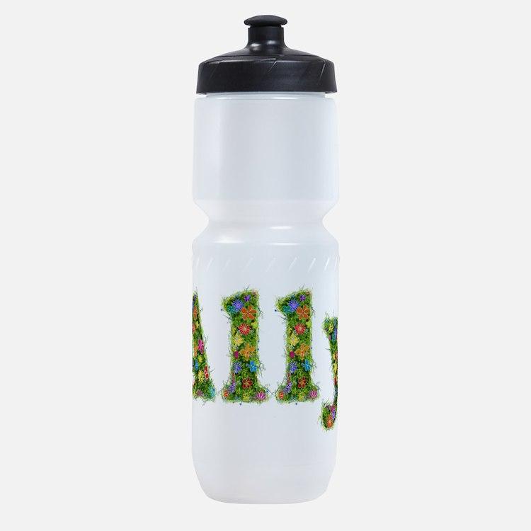 Ally Floral Sports Bottle