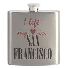 SF_10x10_apparel_LeftHeart_BlackRed Flask