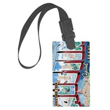 Greetings from Austin journal Luggage Tag