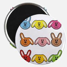 rabbits maya - bib Magnet