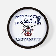 DUARTE University Wall Clock