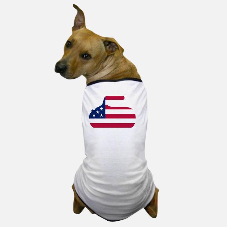 curlingWen Dog T-Shirt
