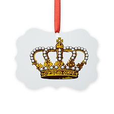 MGPearlCrownBrTr Ornament