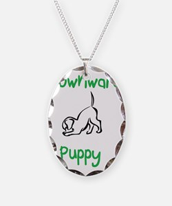 downward puppy Necklace