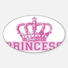 Crown_princess Sticker (Oval)