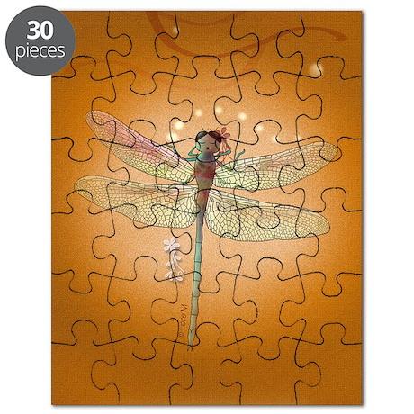 cahierlibelluleailesfines Puzzle