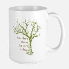 Tree Hugger Large Mug