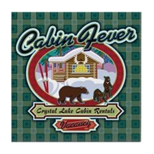 Cabin Fever Tile Coaster