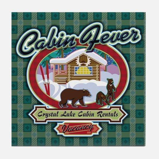 Cabin Fever Tile Coaster