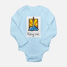 King me. Infant Bodysuit Body Suit