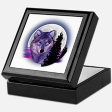 moonwolf Keepsake Box