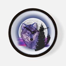 moonwolf Wall Clock