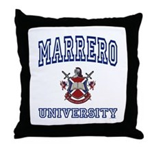 MARRERO University Throw Pillow