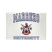 MARRERO University Rectangle Magnet