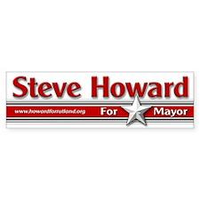 Steve Howard for Mayor Bumper Bumper Sticker