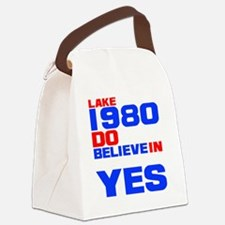 miracle on ice-d Canvas Lunch Bag