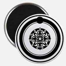 OuroborosSigil-SolidBlack Magnet