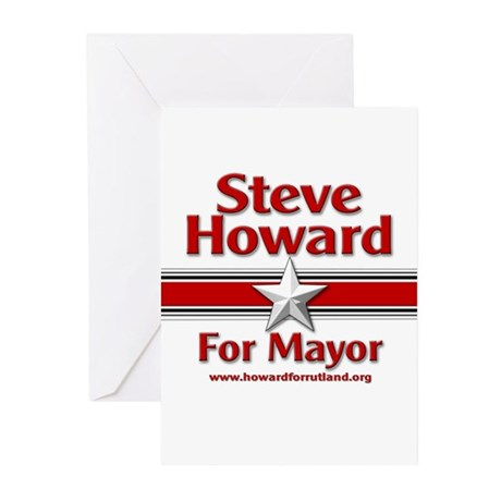 Steve Howard for Mayor Greeting Cards (Package of