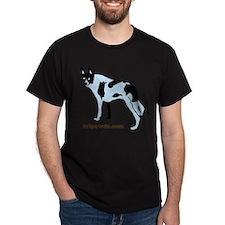 Tripawds.com Three Legged Cow Dog Whi T-Shirt