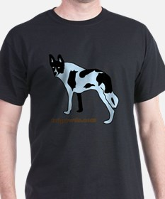 Tripawds.com Three Legged Cow Dog Whi T-Shirt