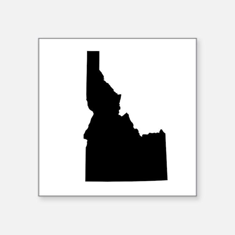 "Idaho Square Sticker 3"" x 3"""
