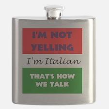 ITALIAN TALK Flask