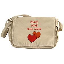 BALL gags Messenger Bag