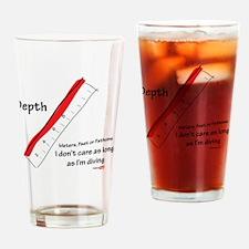 10x10-tshirt-fathoms Drinking Glass