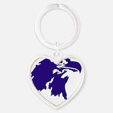 AVN_Mascot_Purple_T Heart Keychain