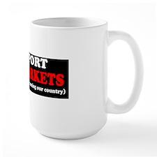 I support Free Markets Mug