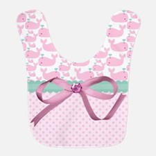 Pink Elephants  Bib