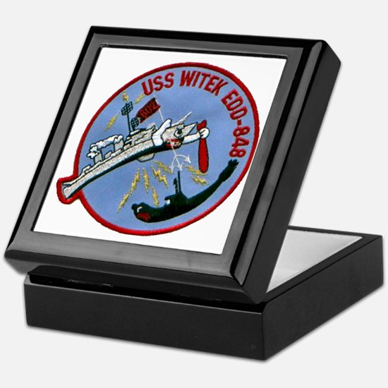 witek patch transparent Keepsake Box
