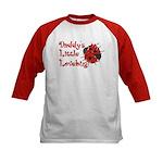 Daddy's Little Lovebug Kids Baseball Jersey