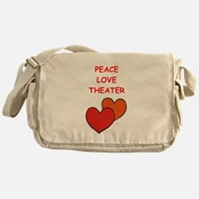 theater Messenger Bag