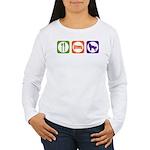 Eat Sleep Shepherd Women's Long Sleeve T-Shirt