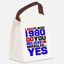 miracle on ice Canvas Lunch Bag