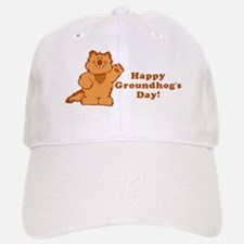 Groundhog's Day! Baseball Baseball Cap