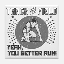 Track and Field Tile Coaster