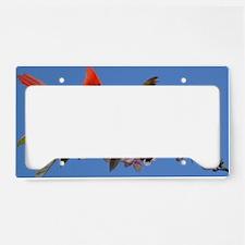 11x11_pillow License Plate Holder