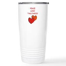 talk radio Travel Mug