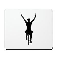 Cyclist winner Mousepad